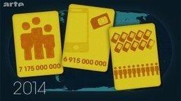 Le dessous des cartes - TÉLÉPHONE MOBILE : OUTIL DE DÉVELOPPEMENT ? | ARTE | Trucs et bitonios hors sujet...ou presque | Scoop.it
