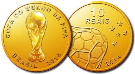 Pièces en or: «Coupe du Monde 2014″ | Les lingots en or! | Scoop.it