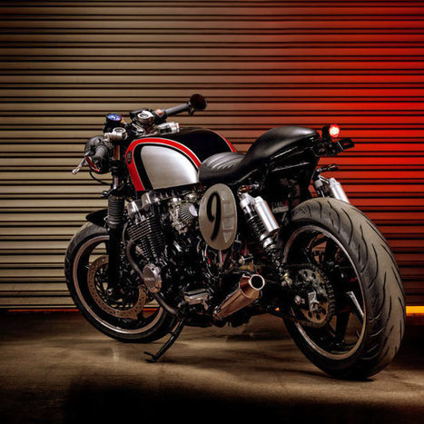 Back To The Future: custom Honda Nighthawk | Bike EXIF | vintage motos | Scoop.it