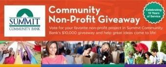 Community Bank Launches $10,000 Facebook Contest To Support Local Charities | Financial | Scoop.it