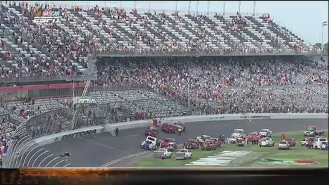 Insane NASCAR Crash At Daytona Ends With An Engine Nearly In The Grandstands | Auto , mécaniques et sport automobiles | Scoop.it