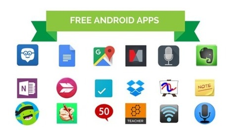 21 FREE Android Apps For Teachers | Apps in Education and Game-Based Learning | Scoop.it
