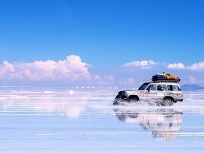 Nature Blows My Mind! Bolivia's Salar de Uyuni Creates World's Largest Mirror   Gaia Diary   Scoop.it