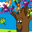 Coloriage automne, coloriage arbre et feuilles d'automne | FLE enfants | Scoop.it
