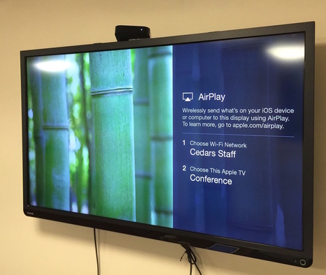 Conference Room Display on AppleTV | iPad classroom | Scoop.it