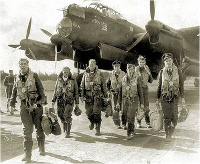 A Lancaster Bomber crew returns | 460 Squadron - Bomber Command: 1942-45 | Scoop.it