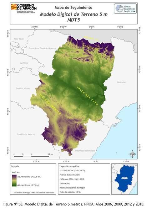 Se aprueba el Plan Cartográfico de Aragón 2017-2020 | Sistemas de Información Territorial para el Desarrollo Local | Scoop.it