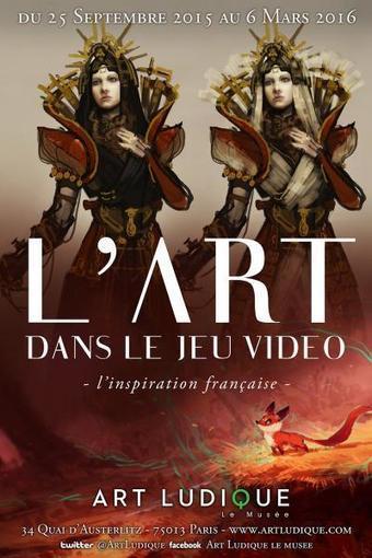 Une exposition 'l'art du jeu vidéo, l'inspiration française' à Paris | Littérature, Philosophie, Art, Architecture,... | Scoop.it