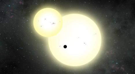 Objavili najväčšiu planétu s dvoma hviezdami   Správy Výveska   Scoop.it