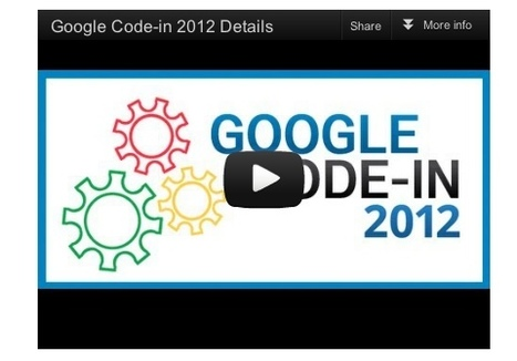 Google Open Source Blog: Google Code-in 2012 contest starts today! | Edtech 2 Go | Scoop.it