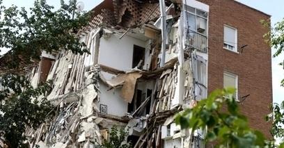 Europe : effondrement soudain d'un immeuble fissuré à Madrid | Expertise bâtiment | Scoop.it