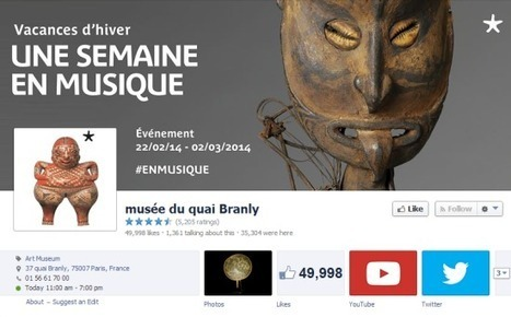 Interview : le community management du musée du quai Branly | Blog du Modérateur | Kiosque du monde : A la une | Scoop.it