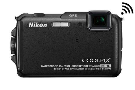 Nikon COOLPIX AW110 Wi-Fi and Waterproof Digital Camera | Camera | Scoop.it