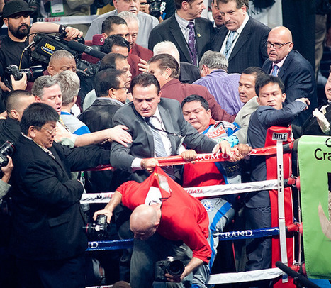 Manny Pacquiao aides allegedly attacked photographer after brutal knockout | News photography and Photojournalism today | Scoop.it