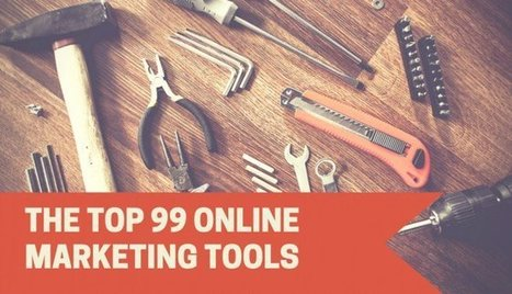 99 Killer Online Marketing Tools to Streamline Your Efforts | Your Treasure Chest of Secret Knowledge To Outperform Digital | Scoop.it