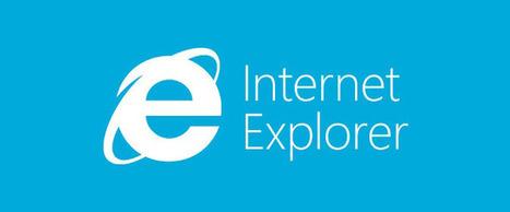 Microsoft veut inciter à mettre à jour Internet Explorer | Geeks | Scoop.it