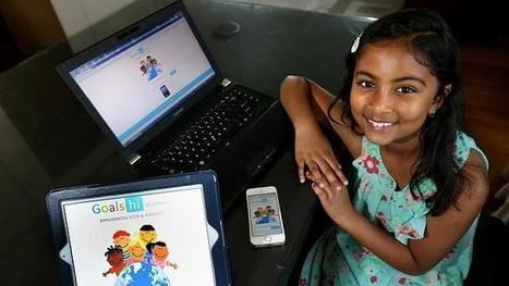 App designer Anvitha Vijay, 7, takes out $10,000 prize | Digital, Science, Innovation and Business | Scoop.it