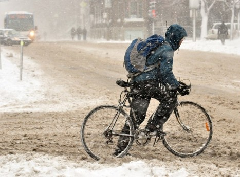 Montreal Winter Cyclists Will Have Safer Bike Lanes In 2015 - MTL Blog (blog) | Vélo urbain - Vélo d'hiver - Montréal | Scoop.it