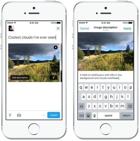 Twitter introduit la balise ALT pour décrire les images partagées en 420 caractères - Arobasenet.com   TIC et TICE mais... en français   Scoop.it