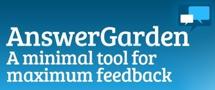 Practical Ed Tech Tip of the Week - Poll Your Students With AnswerGarden | What tool to use for your final project in ESL classes. | Scoop.it