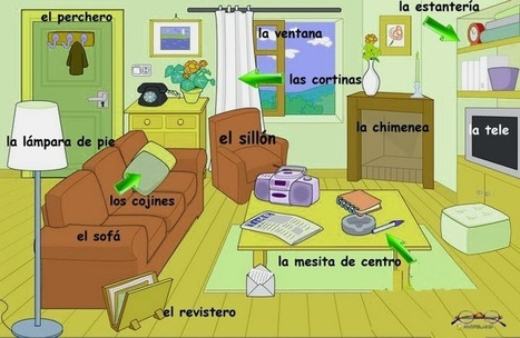 LÁMINAS DE VOCABULARIO A1 | Español para los más pequeños | Scoop.it