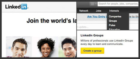 Leveraging LinkedIn Groups for Sales and Marketing Pros | Social Media tips and news | Scoop.it
