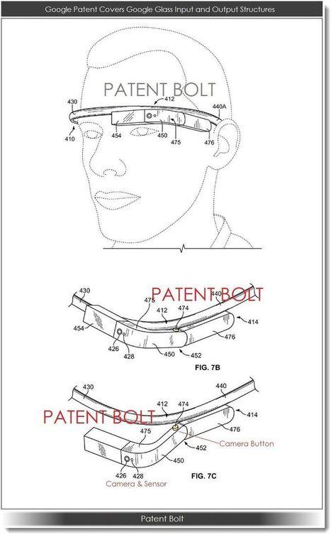 New Google Glass Patent Illustrates Customization Options - Patent Bolt | #cyborgs #glass | Cyborgs_Transhumanism | Scoop.it