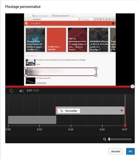 Comment flouter des objets en mouvements sur YouTube - Tech - Numerama | Ressources Ecole | Scoop.it