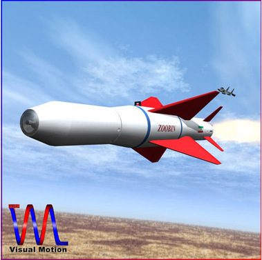 AGM-379 Zoobin Missile modele 3D | 3D Library | Scoop.it