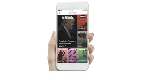 #ReseauxSociaux: La première édition du «Monde» sur #Snapchat Discover | Journalisme web et innovations | Scoop.it