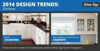 2014 Kitchen Design Trends: Homeowners Want Black Counters, Open Shelves ... - PR Newswire (press release) | Great Bathroom and Kitchen Style | Scoop.it