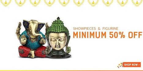 Minimum 50% Off on Showpieces & Figurines | DribblingMan | Scoop.it