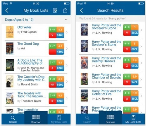 Free Technology for Teachers: Organize Leveled Reading Lists With Book Wizard Mobile | Tech Integrators | Scoop.it
