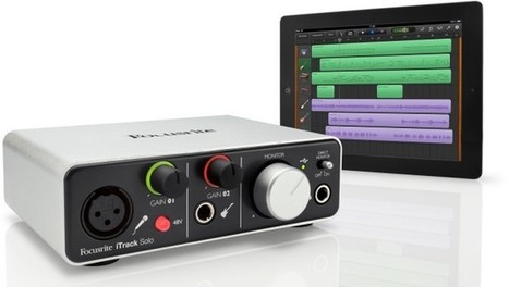 On iPad and Desktop, Focusrite Aims for Simple, Premium Recording | High-Tech news | Scoop.it
