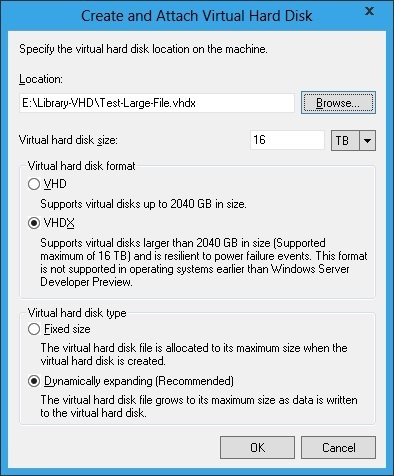 Windows Server 8 VHDX disk format supports up to 16 TB | Windows Infrastructure | Scoop.it