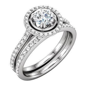 Matching Wedding Bands & Diamond Rings for Women | Diamond Band | Scoop.it