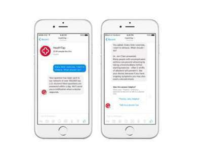 Medical Messenger Bots : healthtap | mHealth- Advances, Knowledge and Patient Engagement | Scoop.it