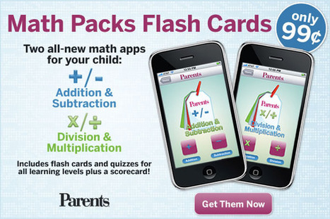 Math Flash Cards iPhone App | 3KI Math Sites | Scoop.it