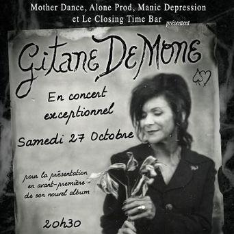 Gitane Demone : album début 2013 et showcase le 27 octobre | ObskureMag | Alone Prod Label | Scoop.it