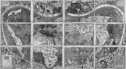 The Map That Named America (September 2003) - Library of Congress Information Bulletin | American History and Culture | Scoop.it