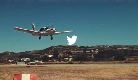 Des tweets dans le ciel - retour sur une campagne pub innovante !   Présent & Futur, Social, Geek et Numérique   Scoop.it