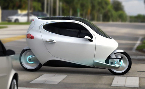 """C-1 """"Rolling Smartphone"""" Electric Vehicle   Share Some Love Today   Scoop.it"""