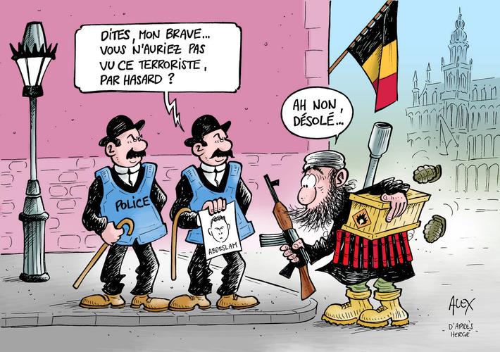 Belgique : une alerte antiterroriste de plus en plus absurde | Baie d'humour | Scoop.it