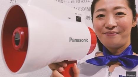 Panasonic's Multilingual Megaphone Translates as You Speak   National Disability Coordination Program Northern Victoria   Scoop.it