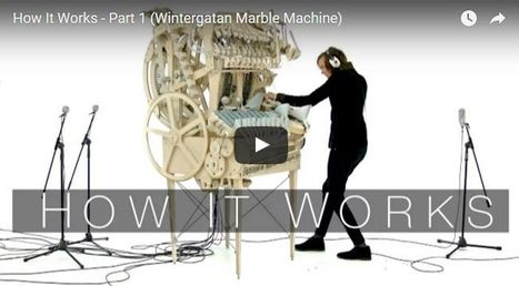 See How the Viral Musical Marble Machine Works (and Could Be Improved)   Make:   iPads, MakerEd and More  in Education   Scoop.it