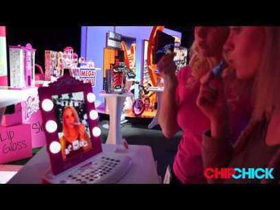 Augmented reality Barbie Mirror lets kids try makeup without the mess - QR Code Press | Augmented Reality Gaming | Scoop.it