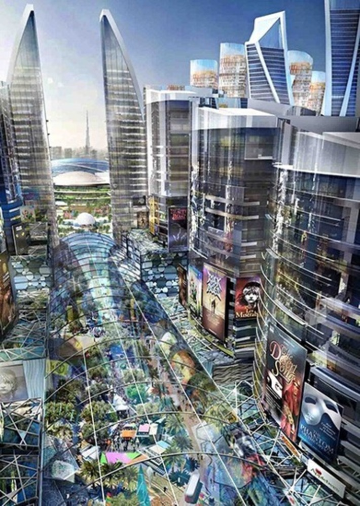 The world's first indoor city: a greatest hits mashup of London and New York | Architectural News | Scoop.it