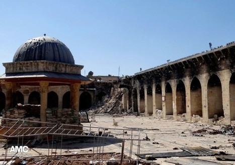 Minaret of famed 12th century Sunni mosque in Syrian city of Aleppo destroyed | Coveting Freedom | Scoop.it