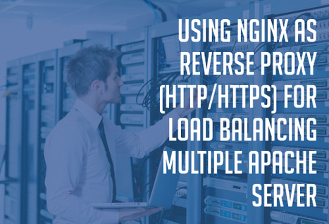 Using Nginx as reverse proxy (HTTP/HTTPS) for load-balancing multiple Apache servers - GloboTech Blog | Dedicated Server | Scoop.it