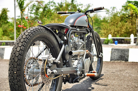 Kawasaki KZ200 Bobber - Grease n Gasoline | Refugees | Scoop.it